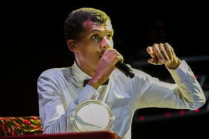 Stromae in Kigali Oct 17,2015 French songs are romantic... Sold! By Cyril