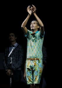 Stromae in Kigali Oct 17,2015 Lights out! Where the switch at? By Cyril